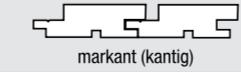 Palubka fasádní - profil Trendliner 22x96