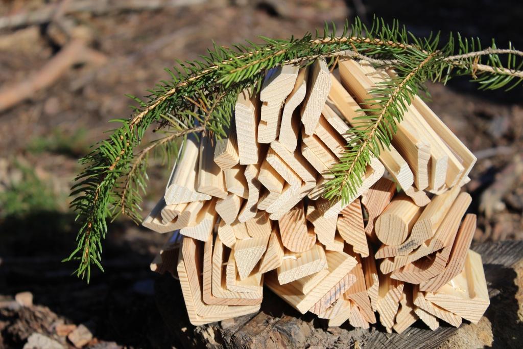 Dřevěné profilové lišty