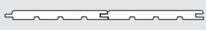 Palubka obkladová - profil klasik