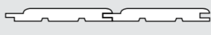 Palubka obkladová - profil SoftLine