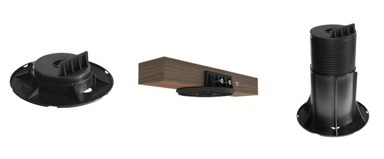 Stavitelné terasové podložky – NOVINKA