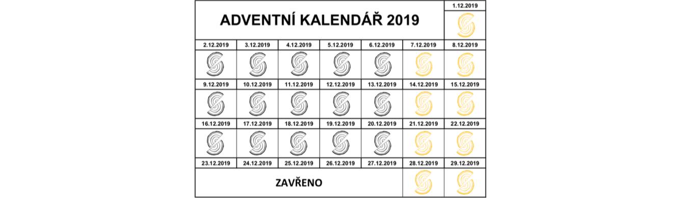ADVENTNÍ KALENDÁŘ 2019