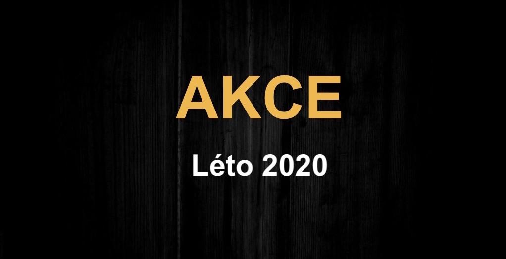 AKČNÍ NABÍDKA – LÉTO 2020